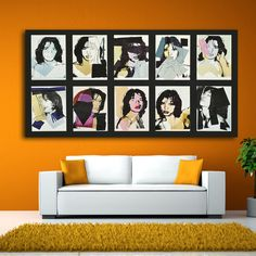 2017 hot sale CSK By andy warhol oil painting POP Art Print on canvas for wall decoration poster free shipping  #Affiliate