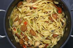 Here's A Recipe For A Savory Cajun Pasta Dish That Is Going To Rock Your Socks Off