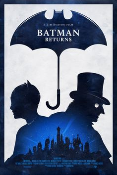 """Batman Returns"" Fan Made Film Poster /// by Adam Rabalais"