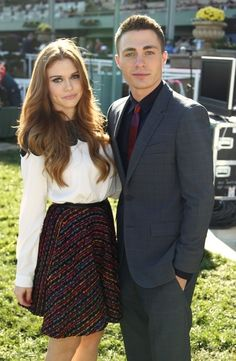 Colton Haynes & Holland Roden Looking ~ Fabulous At The Breeders' Cup World Championships