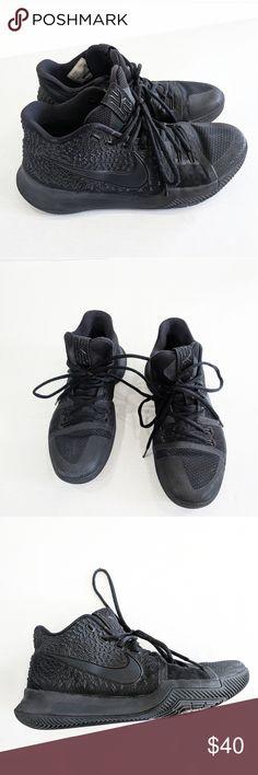 8582233ce2c Nike Kyrie Irving Black Basketball Shoes 9.5 Azurie Elizabeth — Kyrie 3  Nike basketball shoes Condition