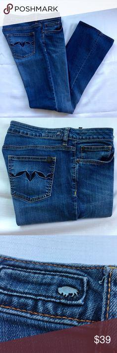 """Buffalo David Bitton Mega jeans sz 30 Buffalo David Bitton Mega jean sz 30.    Approximate flat lay measurements Waist/hip 16"""", rise 8.5, inseam 29.5"""". Buffalo David Bitton Jeans Boot Cut"""