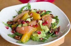 Culy Homemade: frisse citrussalade met avocado en pecannootjes