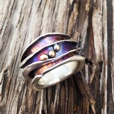 Wave Spinner Ring, Robyn Cornelius, Little Rock Jewellery Studio