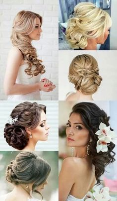 Wedding prom hair ideas