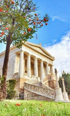 The National Library of Greece situated near the center of city of Athens #kitsakis