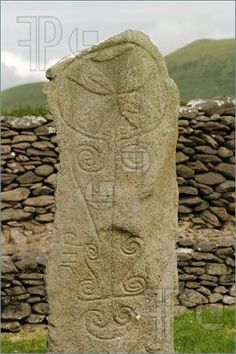 Image of Ancient Celtic Tombstone