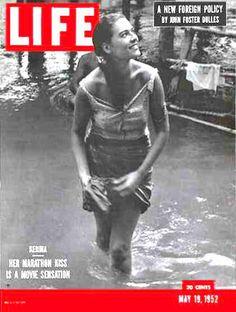 Life 1952 Starlet Kerima Marathon Kiss