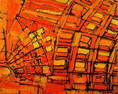 Indiewalls: 2013-033 Metro Station in Orange and Yellow, Washi by Alyse Radenovic