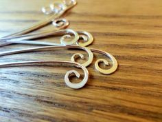 Head Pin Variations for Jewelry Making