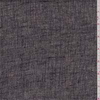 Black/Ecru Linen
