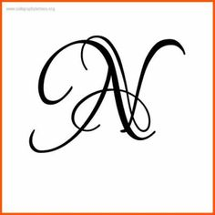 9 capital n in cursive operation creative lettering lettering design hand lettering