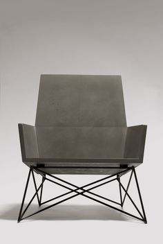 Outdoor Concrete Seating by Hard Goods in home furnishings  Category