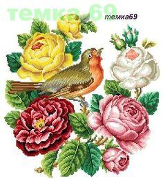 Cross Stitch Tree, Cross Stitch Flowers, Cross Stitch Charts, Cross Stitch Patterns, Needlepoint Patterns, Embroidery Patterns Free, Quilted Wall Hangings, Cross Stitching, Needlework