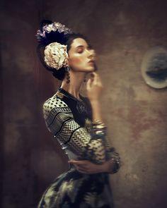 SO SCHOEN WIE GEMALT // German GALA by Elizaveta Porodina, via Behance