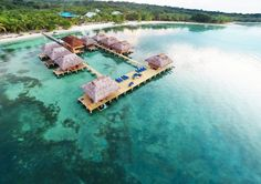 Azul Paradise, Panama (Bungalows from $275, Doubles from $425, Three-Night Minimum): With its powder beaches, consistent surf breaks and Caribbean-style clapboard houses, Panama's Bocas del Toro island group has been a regular stop on the backpacker and wave-chaser circuit for years. And sure, this hotel on Isla Bastimentos can play chilled-out surf hut, but it can also serve as a romantic getaway for the adventurously inclined. Make it what you want. Either way, the setting is far-out. A…