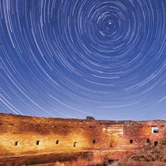 Chaco Canyon, New Mexico. Located in Northwestern NM, between Albuquerque and Farmington.