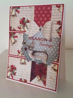 The Magic of Christmas Craftwork cards kit