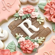 Candy Cookies, Cut Out Cookies, Royal Icing Cookies, Cupcake Cookies, Sugar Cookies, Decorated Cookies, Cupcakes, Iced Biscuits, Edible Wedding Favors
