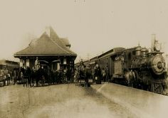 Lancaster Ohio depot 1900