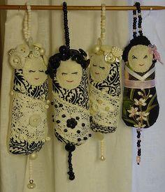 Geisha Dotee dolls