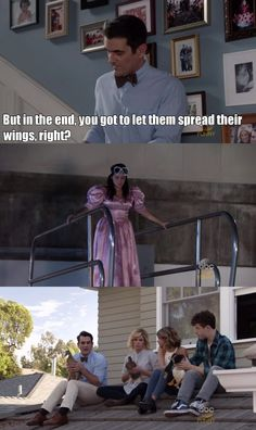 In the end you got to let them spread their wings Phil Dunphy Modern Family Tv Show, Modern Family Funny, Family Tv Series, Modern Family Quotes, Tv Shows Funny, Best Tv Shows, Tv Show Quotes, Movie Quotes, Morden Family