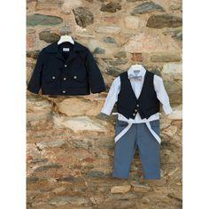 Ολοκληρωμένο Χειμερινό κουστουμάκι βάπτισης Dolce Bambini σε λευκές/πετρόλ αποχρώσεις σετ με παντελόνι, πουκάμισο, γιλέκο, καπέλο, παπιγιόν και μπουφάν, Βαπτιστικό κουστουμάκι Χειμωνιάτικο τιμές, Βαπτιστικά ρούχα αγόρι Χειμερινά οικονομικά-μοντέρνα Prepping, Style, Fashion, Swag, Moda, Fashion Styles, Fashion Illustrations, Outfits, Prep Life