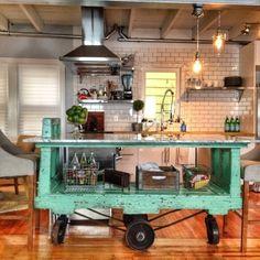 10 Kitchen Islands That We Wish Were in Our Kitchens