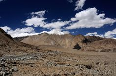Road in Ladakh at the altitude about 4000 meters above sea level.  #Leh #Ladakh #India #Travel #photography