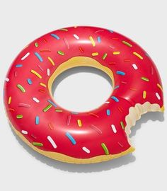 Gigantic Donut Pool Float — Available from Fred Flare. $24