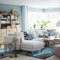 Un salon haut en couleurs pour cet été ☀ #IKEAHome #IKEA #Ikeafrance #deco…
