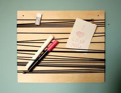 String Out! / black board - Pakamera.pl