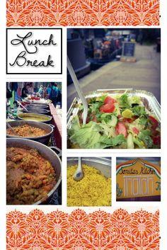 Prawn and lentil curries