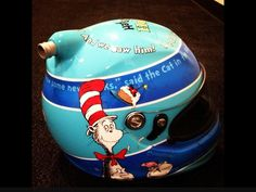 Jeff Gordon's helmet he will be wearing at the NASCAR All Star Race in Charlotte this year.
