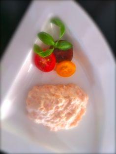 Nuestro famoso mousse de salmón. Our famous salmon Mousse. Mousse, Eggs, Breakfast, Food, Meal, Egg, Eten, Meals, Morning Breakfast