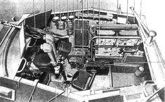 SdKfz 250/3 Interior view.