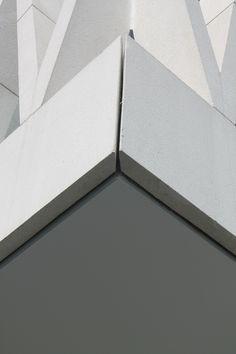 een combinatie van vlakken en lijnen