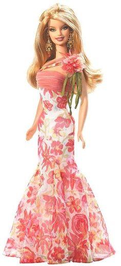 Spring Barbie barbiecollector.com | In a Barbie World | Pinterest)