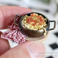 Mini fettuccini