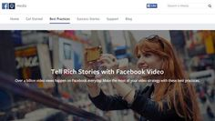 How to get started with #Facebook video http://tnw.me/5JYP8O9