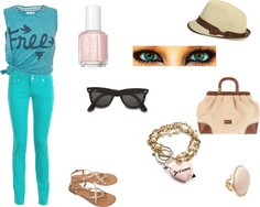 """TEAL"" by ting-a-ling on Polyvore"