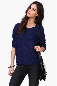 In Lust Knit in Blue