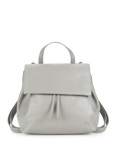 f365357903 Classic Leather Backpack by Halston Heritage at Gilt