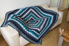 Ravelry: KarinvdB's Stash Eater blanket