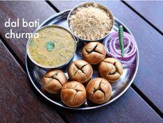 dal baati recipe in appe pan Lunch Recipes, Breakfast Recipes, Vegetarian Recipes, Party Recipes, Dal Bati Recipe, Kitchen Recipes, Cooking Recipes, Cooking Ham, Flour Recipes