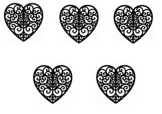 Chocolate Lace Flower Template.