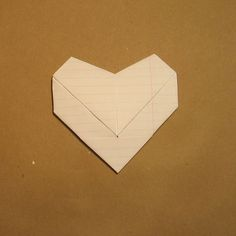 Fold A Note Into A Secret Triangle  Triangles Note And Origami