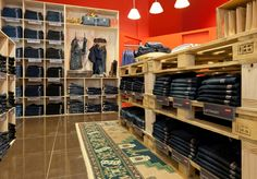 Levi Strauss pop up boutique by RCG, Auckland   New Zealand