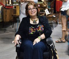 Looking good in a wheelchair | 40plusstyle.com