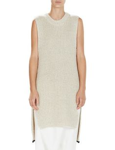 Linen Cotton Oversized Tank